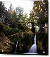 Val Rea Waterfalls Acrylic Print