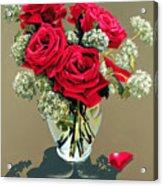 Valentine Roses Acrylic Print