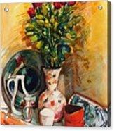Valentine's Day Bouquet Acrylic Print
