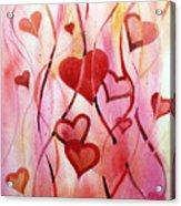 Valentines Day Acrylic Print