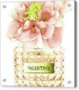 Valentino With Peony Acrylic Print