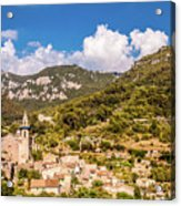 Valldemossa View From The Town Acrylic Print
