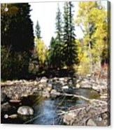 Vallecito Colorado I Acrylic Print