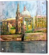 Valletta Icon Acrylic Print