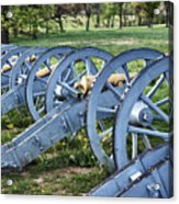 Valley Forge Artillery Park Acrylic Print