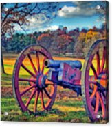 Valley Forge Canon Acrylic Print