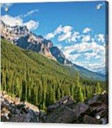 Valley Near Moraine Lake Banff Acrylic Print