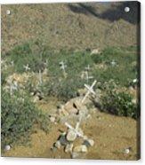 Valley Of Dead Men's Bones Acrylic Print