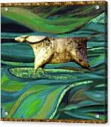 Valley Of Equus Acrylic Print