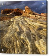 Valley Of Fire 1 Acrylic Print