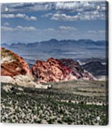 Valley Of Fire Iv Acrylic Print