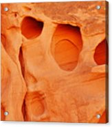 Valley Of Fire Sandstone Acrylic Print