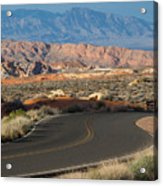 Valley Of Fire State Park Rainbow Vista Acrylic Print