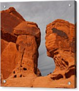 Valley Of Fire State Park Seven Sisters Acrylic Print