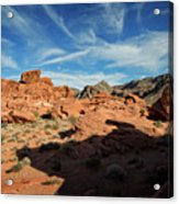 Valley Of Fire XI Acrylic Print
