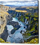 Valley Of Tears #2 - Iceland Acrylic Print