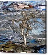 Valley Of The Dancing Zombie Acrylic Print