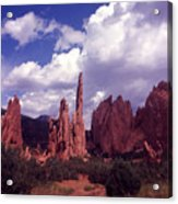 Valley Of The Gods 1964 Acrylic Print