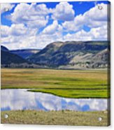 Valley Of The Serpent Acrylic Print