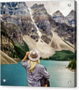 Valley Of The Ten Peaks Acrylic Print