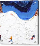 North Face Valluga Acrylic Print