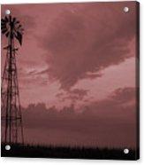 Values Of Iowa Acrylic Print