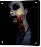 Vampire Feed Acrylic Print