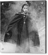 Vampire In The Fog Acrylic Print