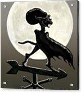 Vampire Moon Acrylic Print