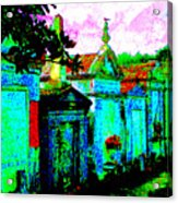 Vampire Tombs New Orleans Acrylic Print