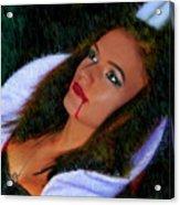 Vampiress Acrylic Print