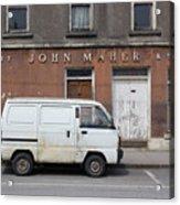 Van And Shop Acrylic Print
