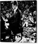 Van Cliburn Is The First Foreigner Acrylic Print by Everett