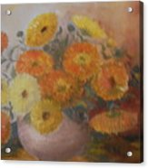 Van Gogh Again Acrylic Print
