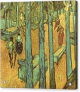 Van Gogh: Alyscamps, 1888 Acrylic Print