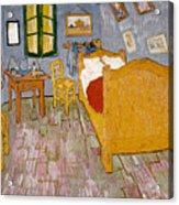 Van Gogh: Bedroom, 1888 Acrylic Print