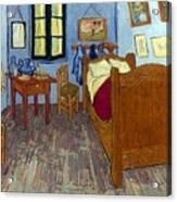 Van Gogh: Bedroom, 1889 Acrylic Print