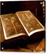 Van Gogh: Bible, 1885 Acrylic Print