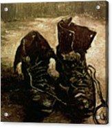 Van Gogh Boots 1886 Acrylic Print