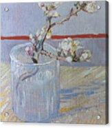 Van Gogh: Branch, 1888 Acrylic Print