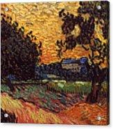 Van Gogh: Castle, 1890 Acrylic Print