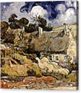 Van Gogh: Cordeville, 1890 Acrylic Print