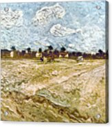Van Gogh: Fields, 1888 Acrylic Print
