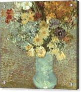 Van Gogh: Flowers, 1887 Acrylic Print
