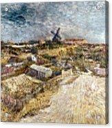 Van Gogh: Gardens, 1887 Acrylic Print