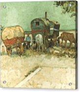 Van Gogh: Gypsies, 1888 Acrylic Print