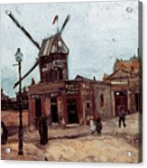 Van Gogh: La Moulin, 1886 Acrylic Print