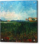 Van Gogh: Landscape, 1888 Acrylic Print
