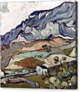 Van Gogh: Landscape, 1890 Acrylic Print