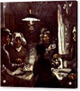 Van Gogh: Meal, 1885 Acrylic Print